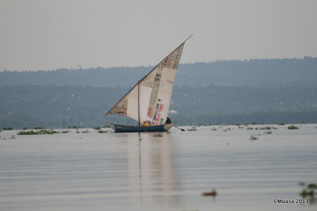 Early morning at Lake Victoria